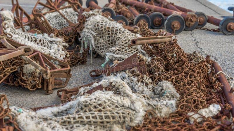 Equipamento marinho imagem de stock