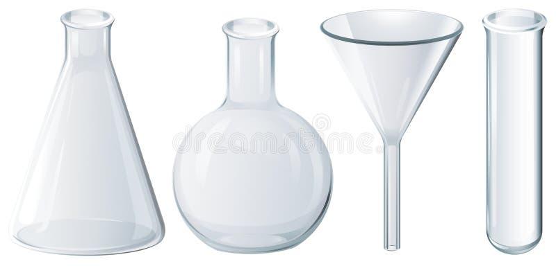 Equipamento químico ilustração stock
