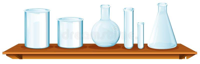 Equipamentos da ciência ilustração stock