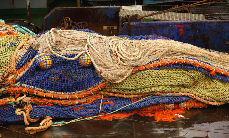 Equipamentos de pesca fotos de stock royalty free