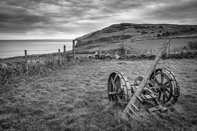 Equipamiento agrícola de Abandond imagenes de archivo