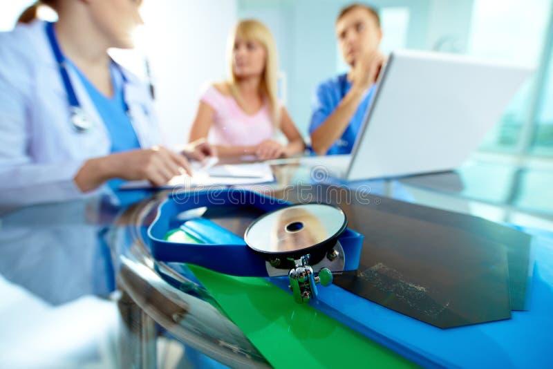 Equipamiento médico fotografía de archivo libre de regalías