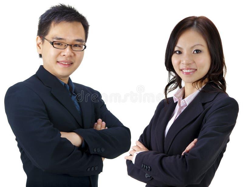 Equipe asiática do negócio fotografia de stock royalty free