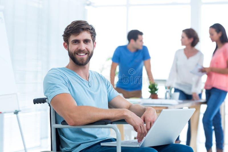 Equipe criativa do negócio no escritório imagens de stock royalty free