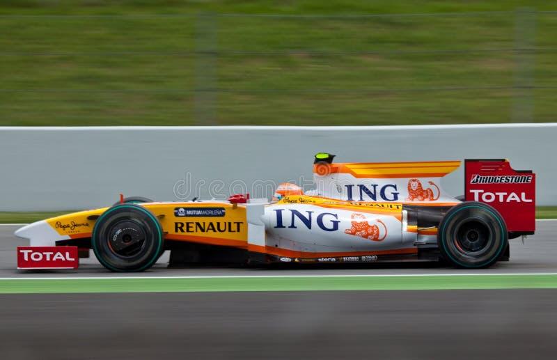 Equipe da fórmula 1: Renault imagens de stock