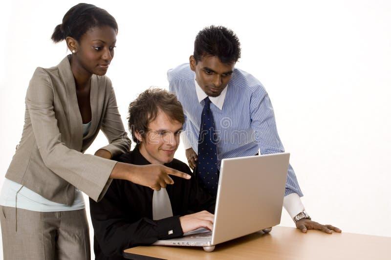 Equipe Da Tecnologia Imagem de Stock
