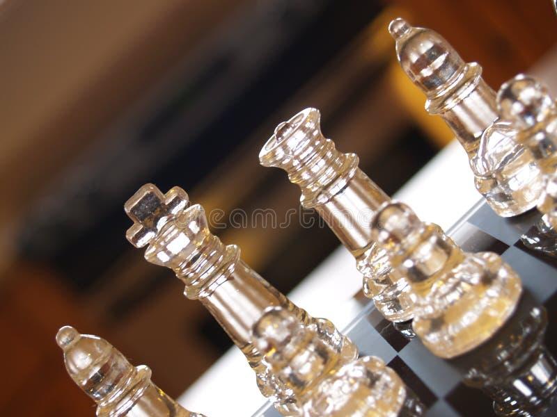 Equipe da xadrez fotografia de stock royalty free