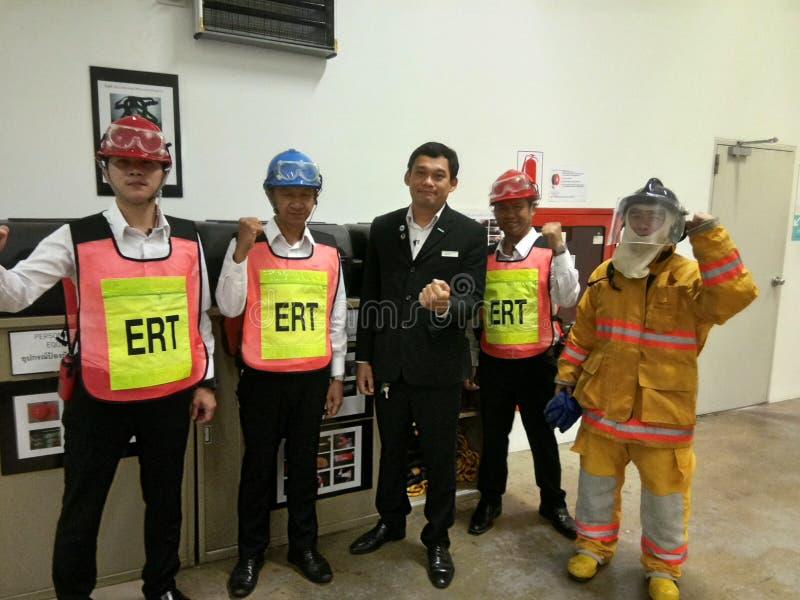 Equipe de ERT imagem de stock