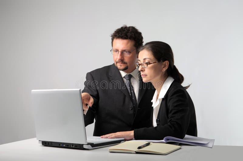 Equipe de funcionários fotos de stock