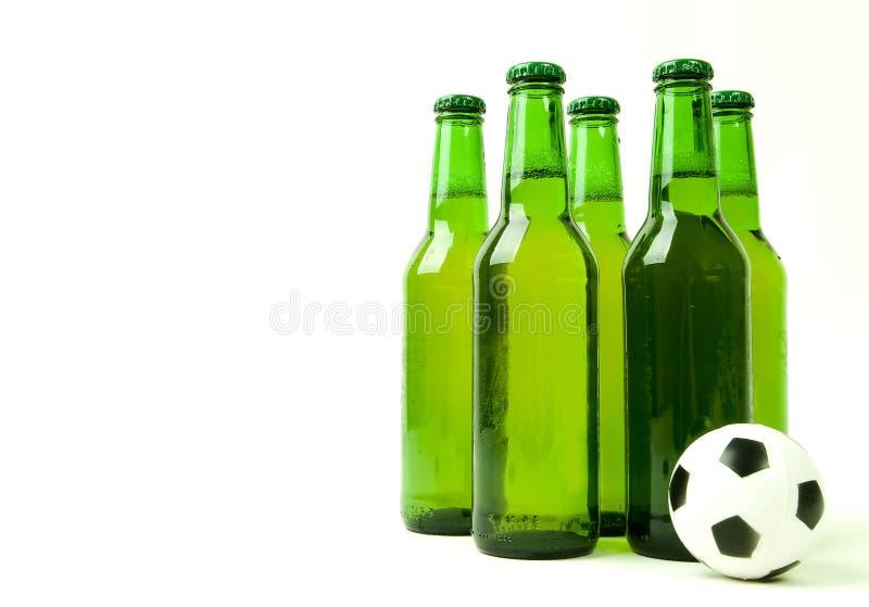 Equipe de futebol fotografia de stock