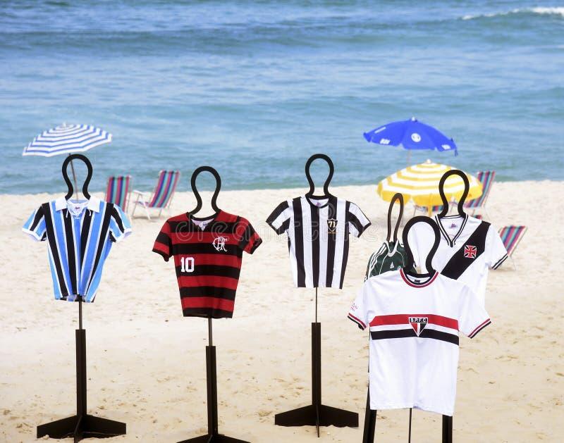 Equipe de futebol das camisas imagens de stock