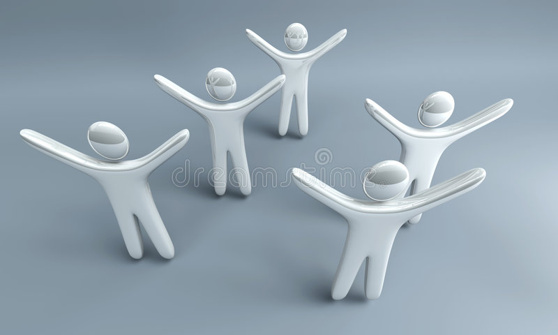 Equipe de vencimento ilustração do vetor