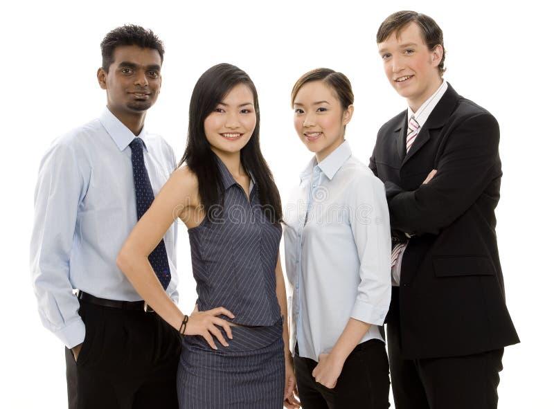 Equipe Diversa 2 Do Negócio Foto de Stock Royalty Free
