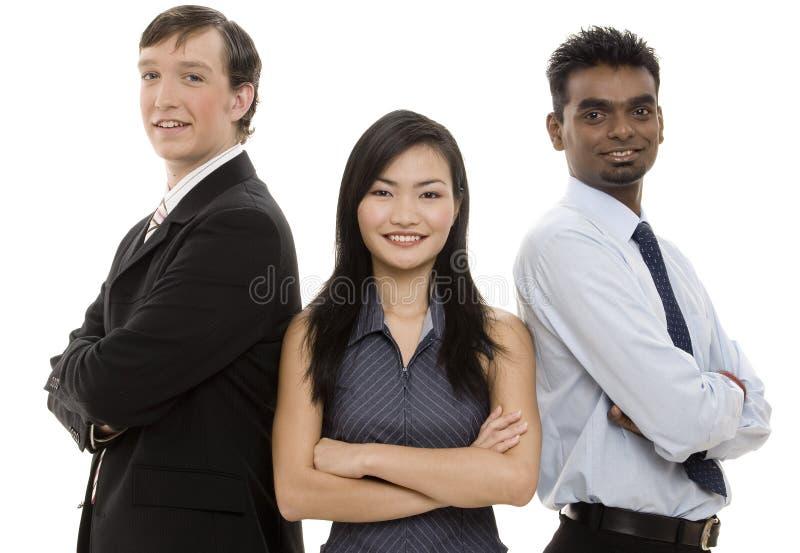 Equipe diversa 5 do negócio fotografia de stock