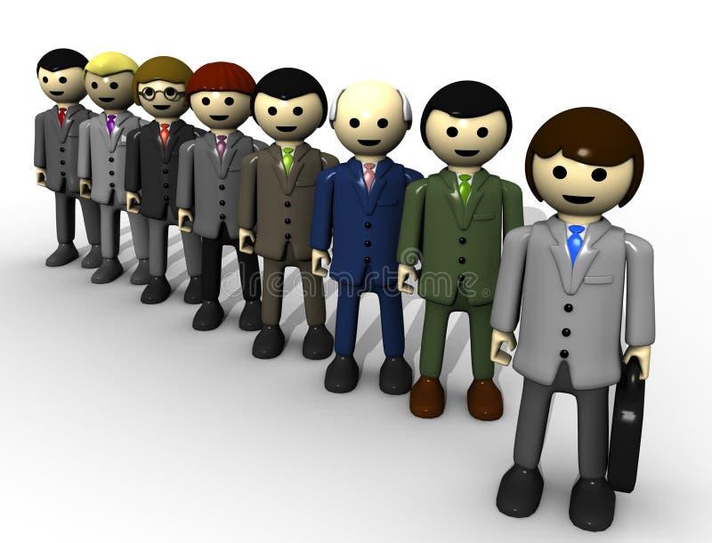 Equipe do brinquedo foto de stock