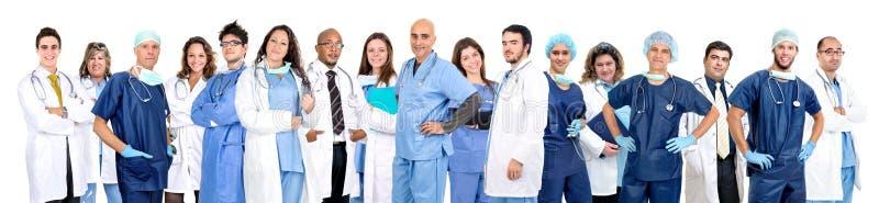 A equipe do doutor fotografia de stock
