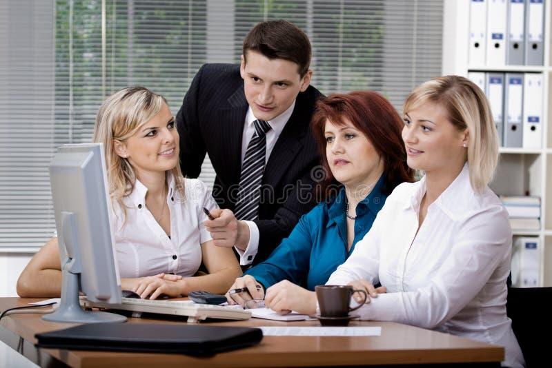 Equipe do escritório imagem de stock