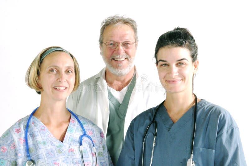 Equipe do hospital imagens de stock
