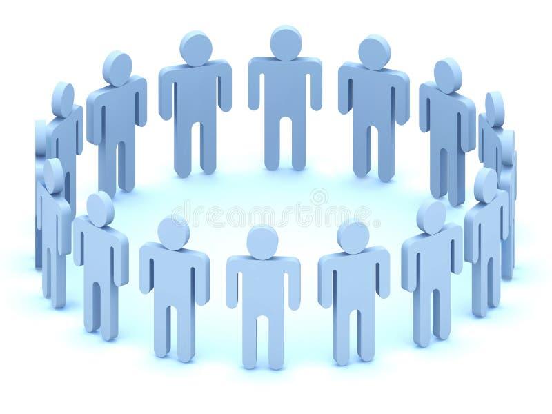 Equipe do logotipo dos povos