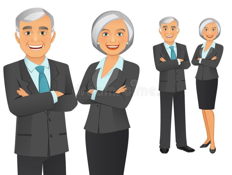 Equipe do negócio ilustração do vetor