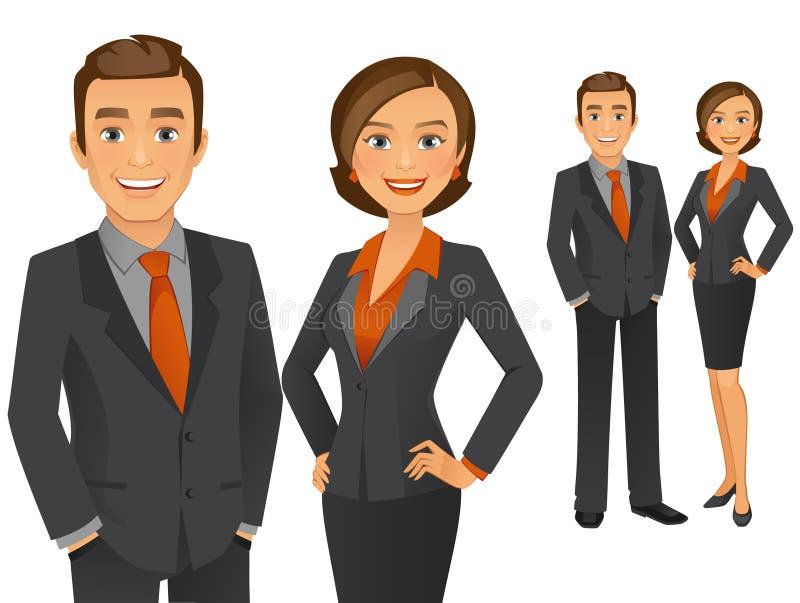 Equipe do negócio ilustração royalty free