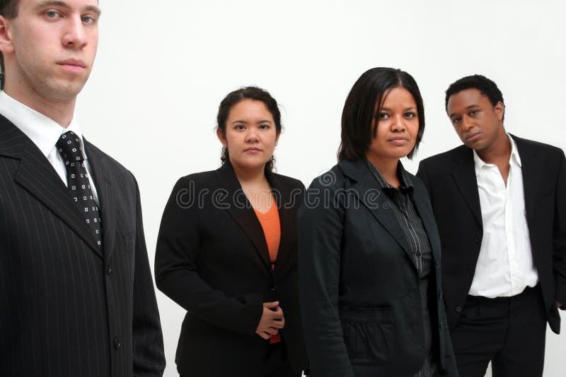 Equipe do negócio - grupo de quatro imagens de stock