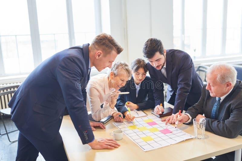 Equipe do negócio na reunião imagens de stock royalty free