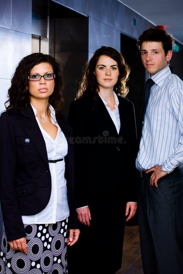 Equipe do negócio no escritório foto de stock