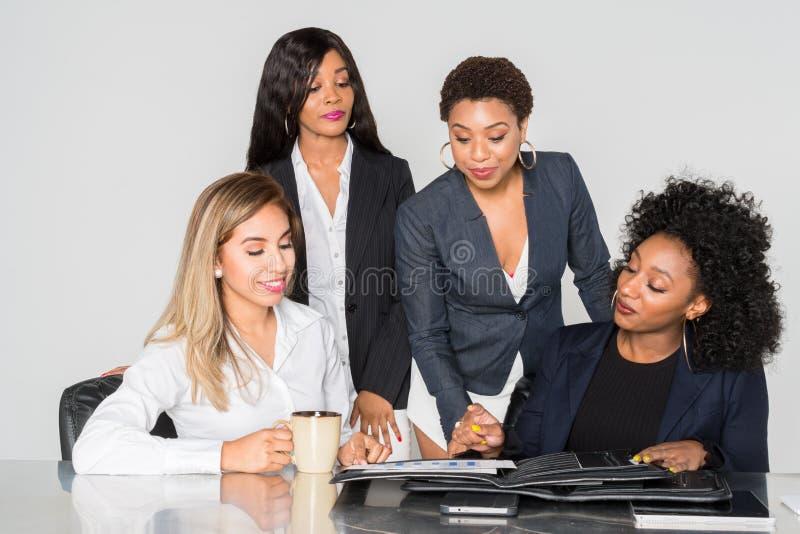 Equipe do negócio no trabalho fotos de stock