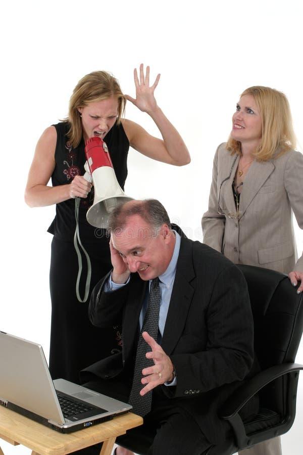 Equipe do negócio sob a pressão imagens de stock