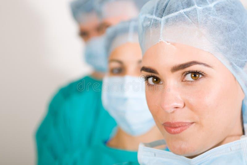 Equipe dos cuidados médicos foto de stock