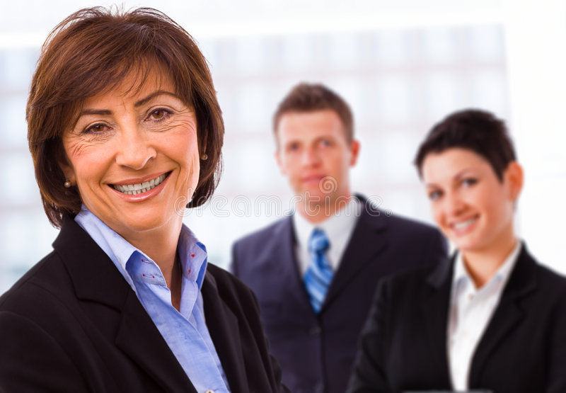 Equipe dos executivos imagens de stock royalty free