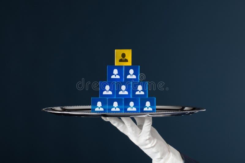 Equipe dos recursos humanos foto de stock