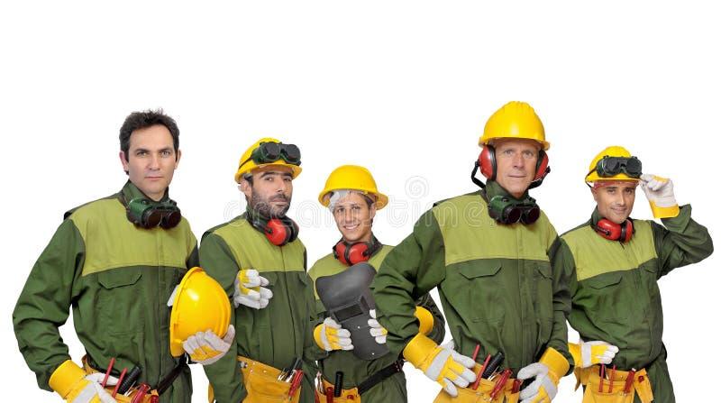 Equipe dos trabalhadores fotos de stock