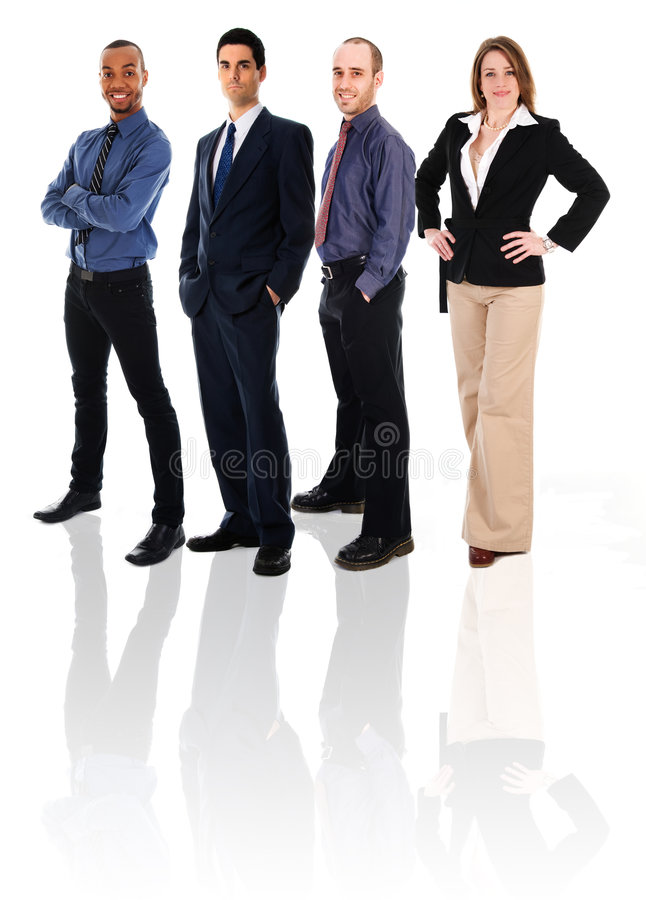 Equipe feliz imagem de stock