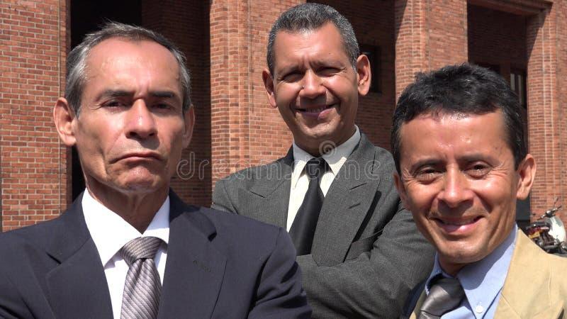 Equipe latino-americano mais velha do negócio foto de stock royalty free