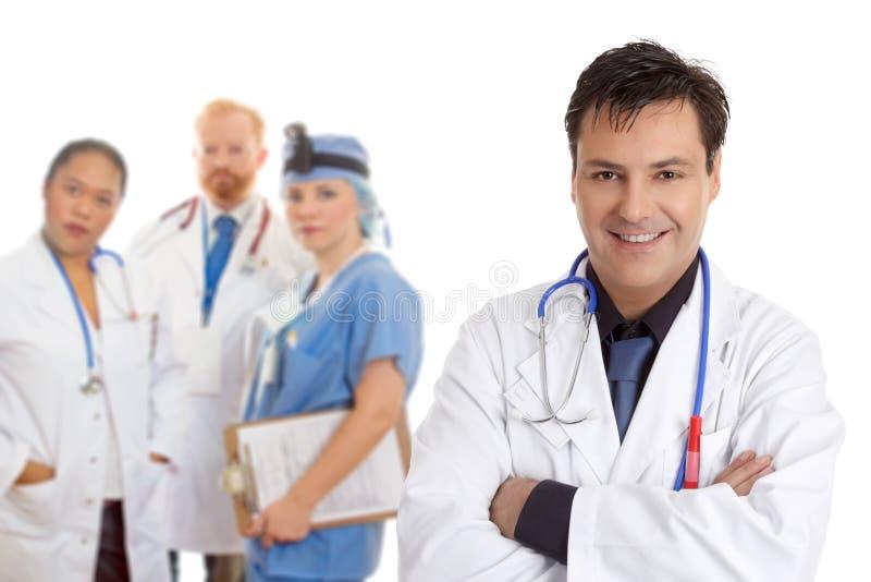 Equipe médica da equipe de funcionários do hospital fotos de stock