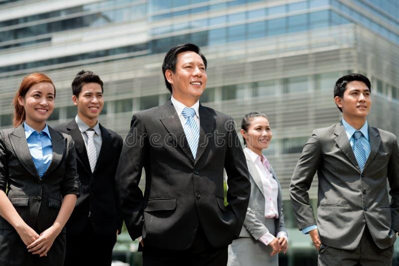 Equipe moderna do negócio imagem de stock royalty free