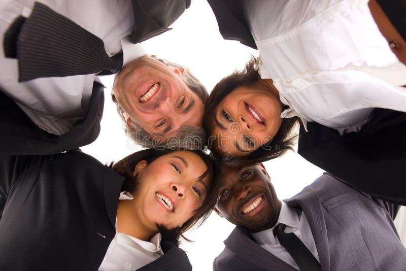 Equipe Multi-ethnic fotos de stock