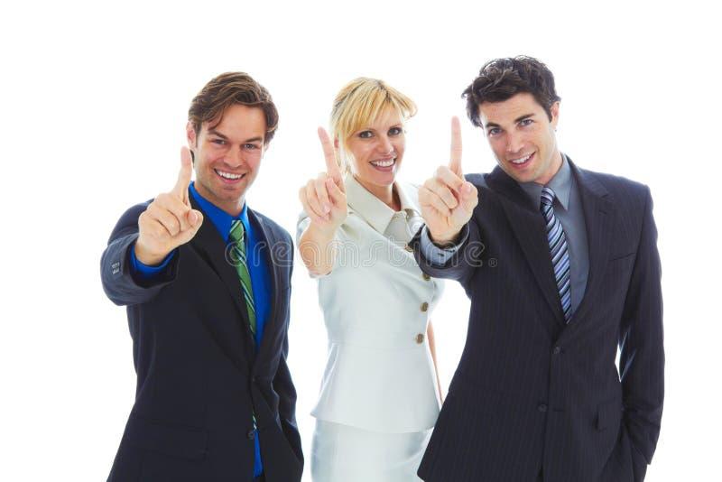 Equipe nova segura do negócio fotos de stock royalty free