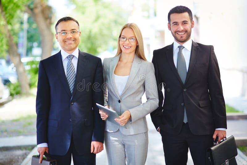 Equipe profissional imagem de stock