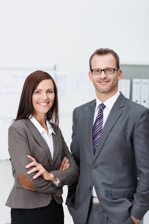 Equipe segura à moda do negócio imagens de stock