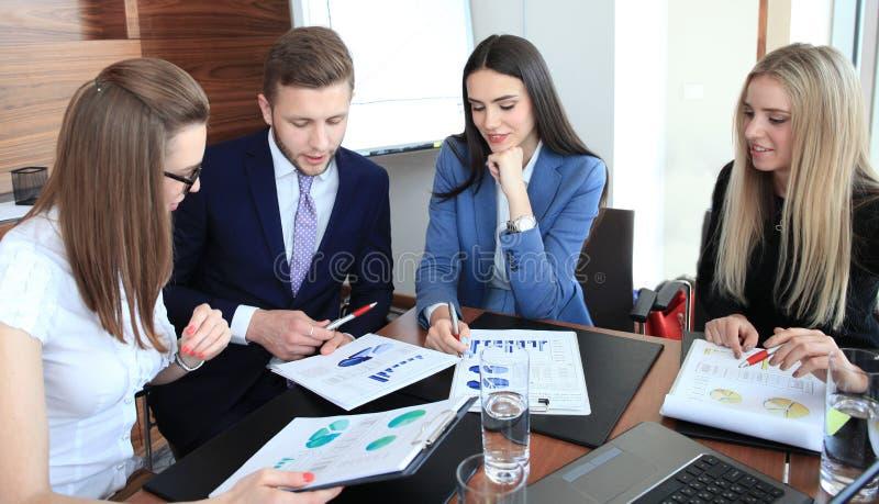 Equipe Startup do negócio foto de stock