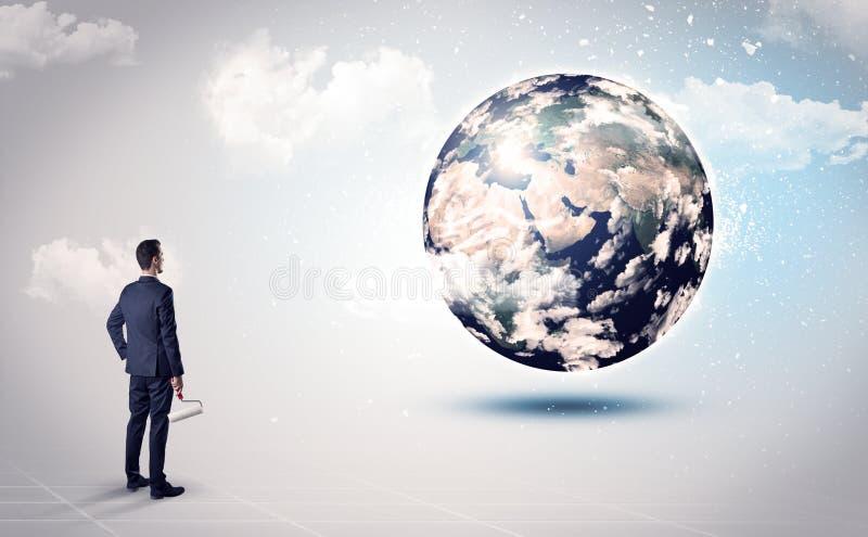 Equipe a vista do globo da terra, cortesia da NASA fotos de stock royalty free
