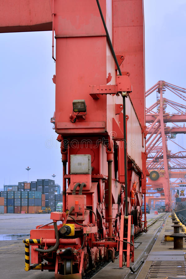 Download Equipment Of Container Yard, Xiamen Port, China Editorial Stock Image - Image: 32544079