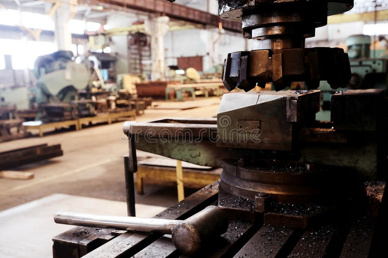 Equipment machinery factory royalty free stock photography