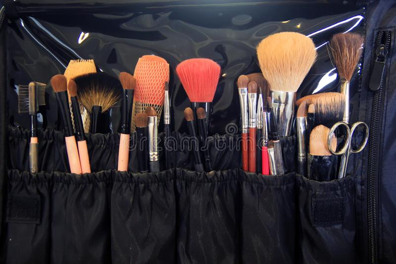 Equipment for makeup royalty free stock image