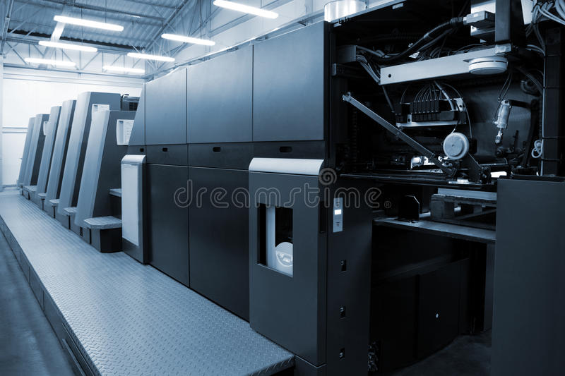 Download Equipment for a press stock photo. Image of engineering - 11782712