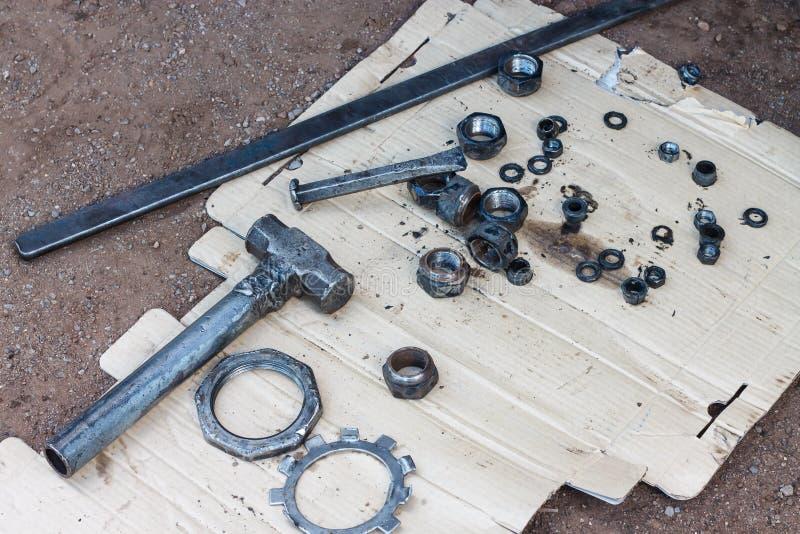 Equipment repair stock images