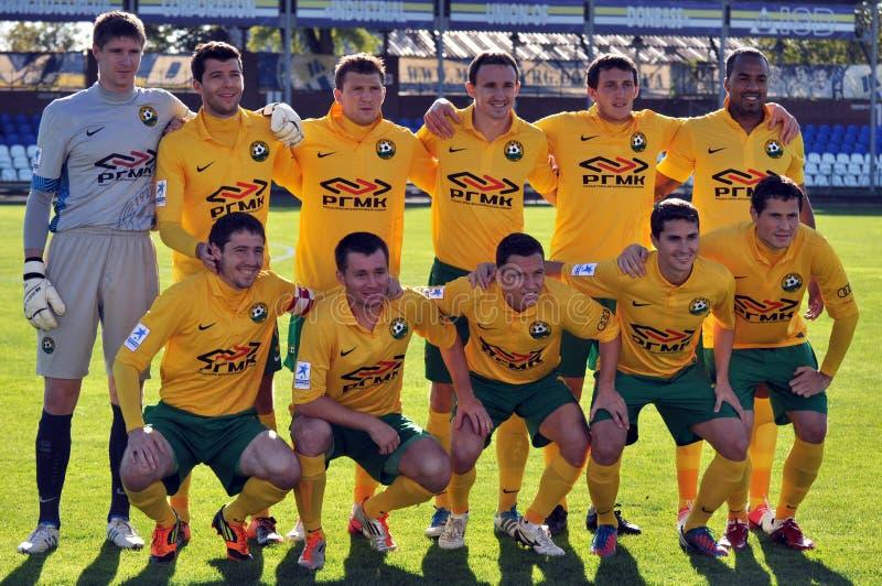 Equipo de fútbol de Kuban foto de archivo